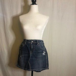 Silver Jeans Francy Skirt Size W28